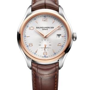 Clifton watch 41mm, automatic movement two tone, alligator strap