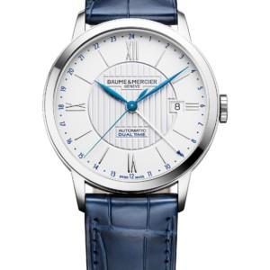 Baume et Mercier Classima 10272, front, automatic, dual time