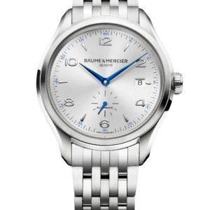 Clifton steel watch Men automatic round 41 mm