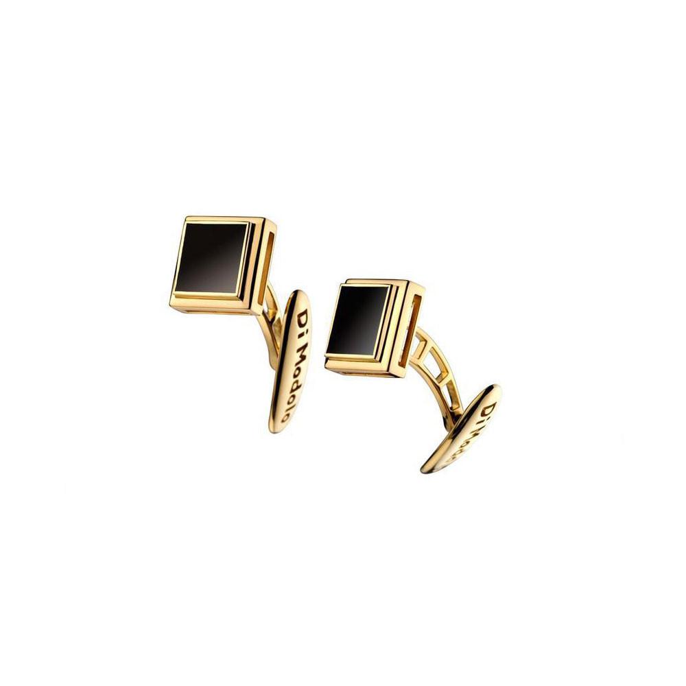 Men's Falco 18K Gold & Black Onyx Cufflinks