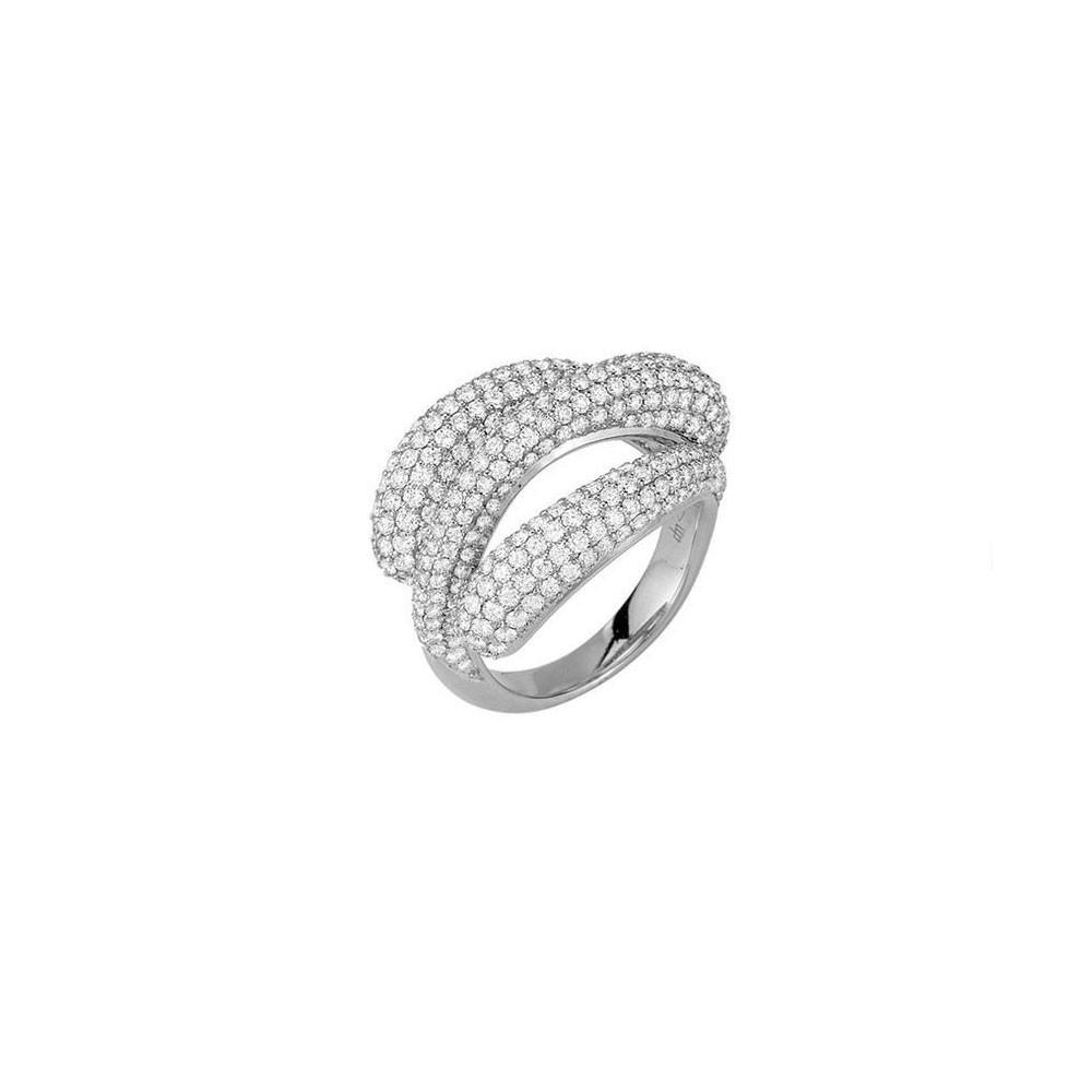 Triadra 18K Gold & Diamond Ring