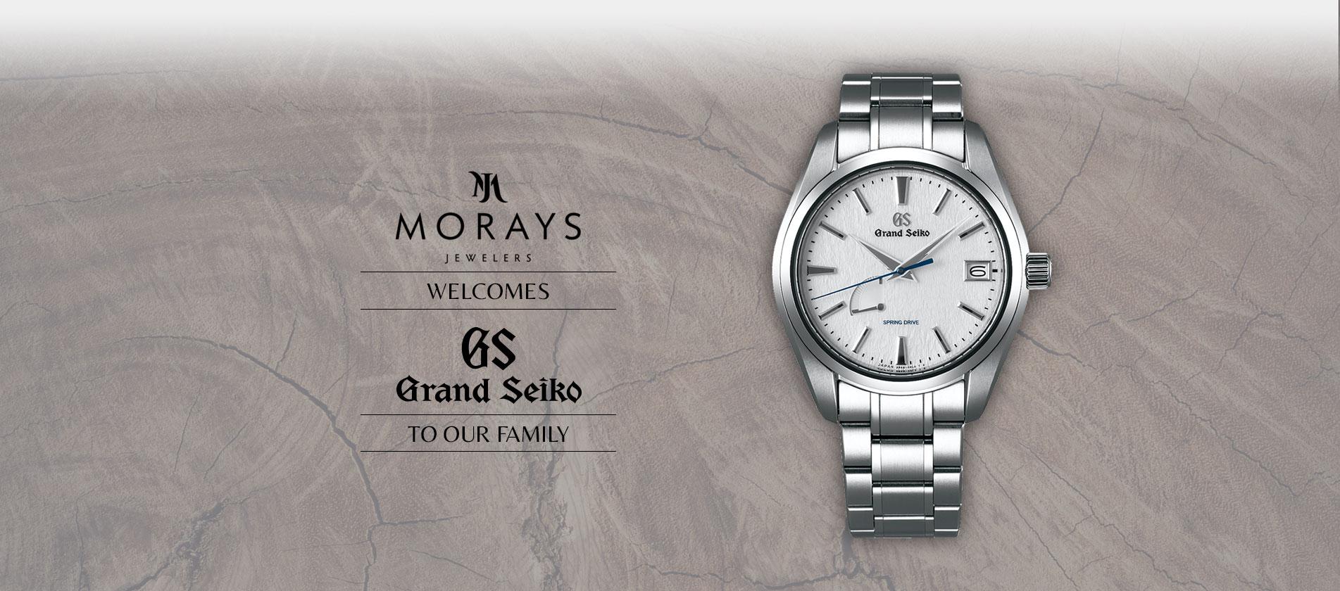 Morays welcomes Grand Seiko to the family